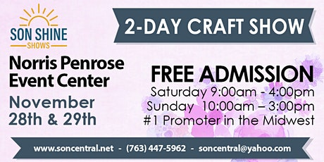 Holiday Craft & Gift Show -  Son Shine Shows tickets