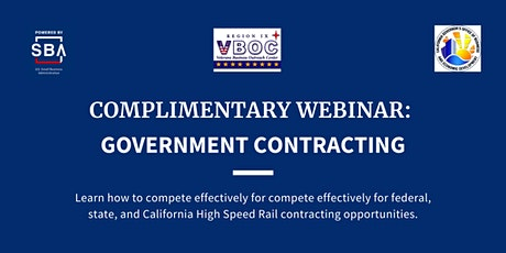 Government Contracting Live Webinar tickets