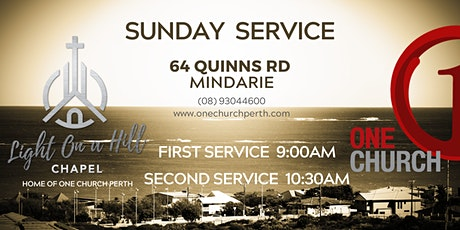 Light On A Hill Chapel -  Sunday Services tickets
