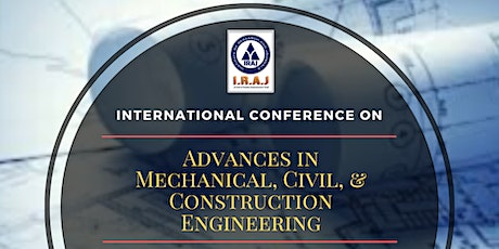 Advances in Mechanical, Civil, and Construction Engineering tickets