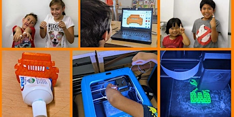 Introduction to 3D printing for children (online) tickets