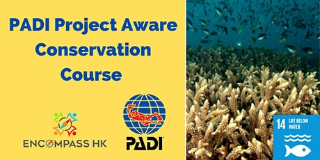 PADI Project Aware Course tickets