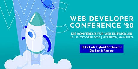 WDC - Web Developer Conference 2020 tickets