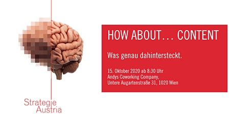 How about... Content? Was genau dahintersteckt. Tickets