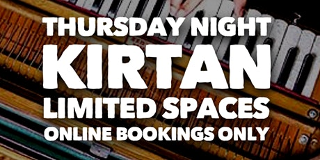 Thursday Night Kirtan at Bhakti House (Strictly Online Bookings Only) tickets