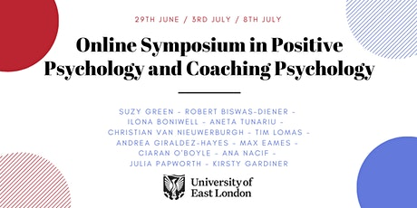 Online Symposium in Positive Psychology and Coaching Psychology tickets