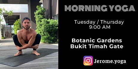 Morning Yoga @ Botanic Gardens tickets