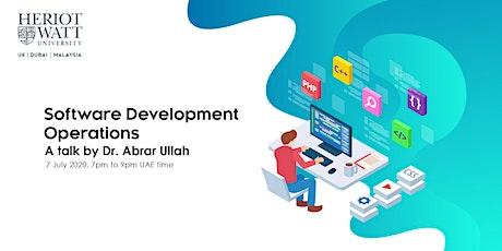 MACS Summer Professional Talk: Software Development Operations (Devops) tickets