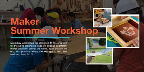 Maker Summer Workshops (Younger Kids) tickets