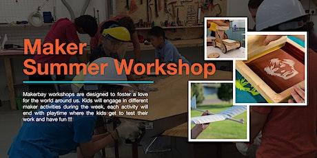 Maker Summer Workshops (Younger Kids) tickets