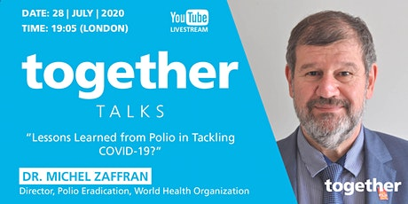 """""""Lessons Learned From Polio in Tackling COVID-19?"""" with Dr Michel Zaffran tickets"""