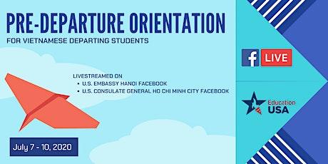 EducationUSA Pre-departure Orientation series tickets