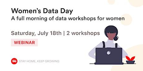 [Webinar] Women's Data Day - Data Analytics & Web Scraping tickets