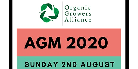 Organic Growers Alliance AGM 2020 tickets