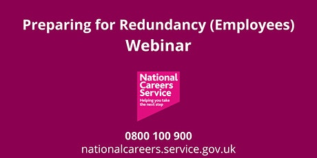 WEBINAR: Preparing for Redundancy (Employees) tickets