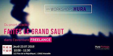 Workshop HURA - Faites le grand saut dans l'aventure FREELANCE avec Hura billets