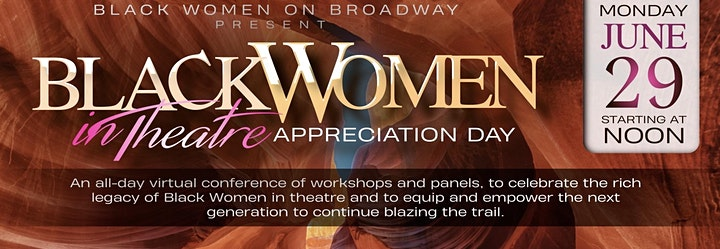Black Women on Broadway Present BLACK WOMEN IN THEATRE APPRECIATION DAY image