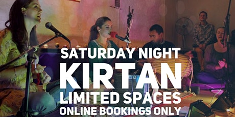 Saturday Night Kirtan at Bhakti House (Strictly Online Bookings Only) tickets
