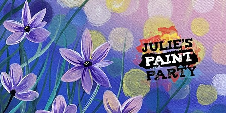 Pretty Petunias- Virtual Paint Party tickets