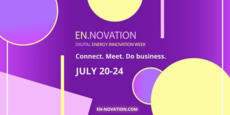 EN.NOVATION - digital energy innovation week tickets