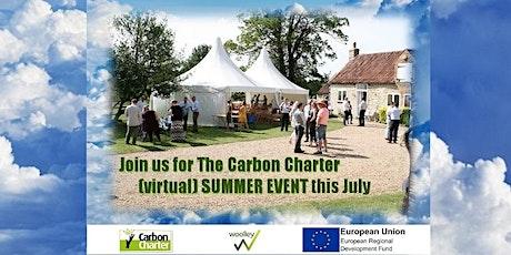 Carbon Charter Summer Event Webinar Series tickets