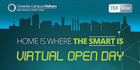 UCO Virtual Open Day tickets