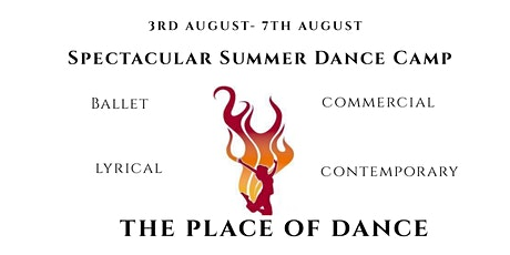 Spectacular Summer Dance Camp Age 10 -13 tickets