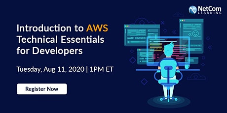 Webinar - Introduction to AWS Technical Essentials for Developers tickets