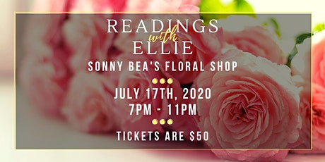 Readings with Ellie @ Sonny Bea's tickets