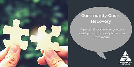 Community Crisis Recovery: an evening webinar tickets