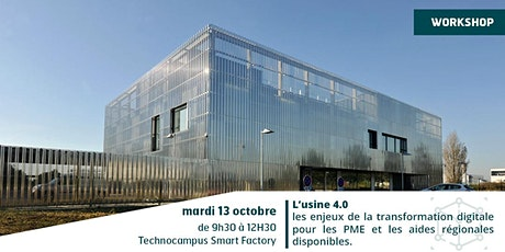 WORKSHOP - USINE 4.0 tickets