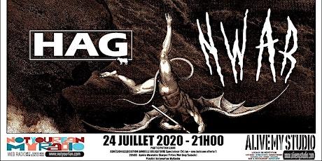 HAG / NWAR NotYourLive l'émission en live et en public tickets