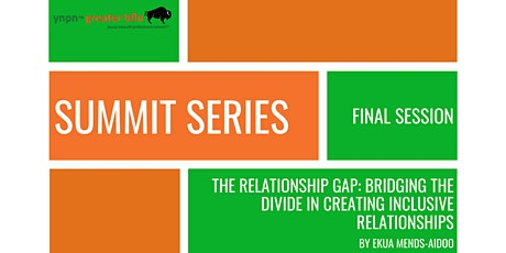 YNPN Greater Bflo Summit Series SESSION #10 (Virtual Event) tickets