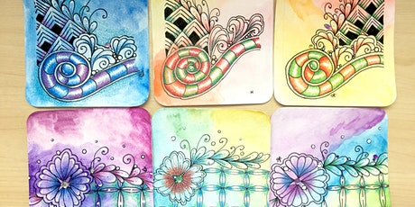 Tangle With Colours Class: 18th July 2020 tickets