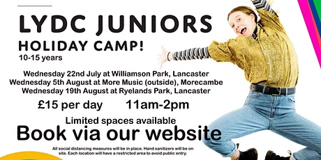 LYDC Juniors Holiday Camp (More Music, outdoors) tickets