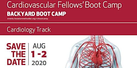 CV Fellows' Backyard Boot Camp:  Cardiology tickets