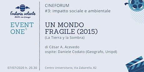 EVENTONE^5:  Un mondo fragile (2015) biglietti