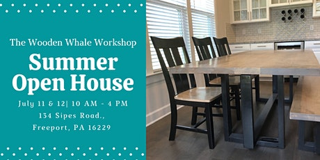Summer Open House at the Wooden Whale Workshop tickets