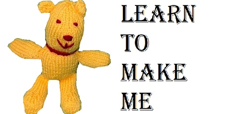 Learn to knit a teddy bear tickets