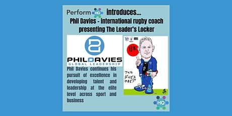 Leader's Locker with Phil Davies - Building a High `Performance Culture tickets