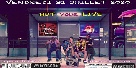 Dig up the 90's/Jeux Cruels NotYourLive l'émission en live et en public billets