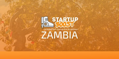 Startup Boost Zambia Launch Event tickets