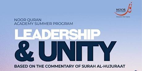 Noor Quran Academy Summer Program - Adults, High School & Post-Secondary tickets