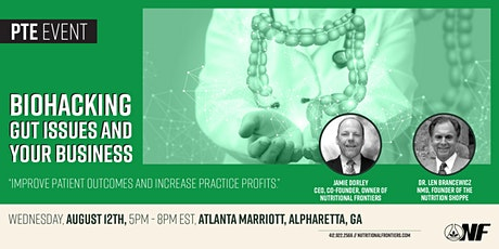 Biohacking Gut Issues and Your Business - Alpharetta tickets