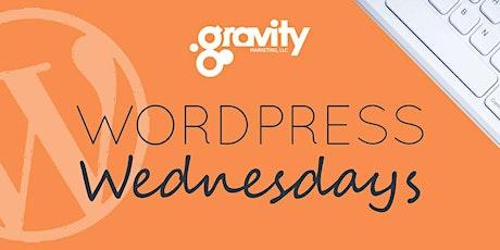 WordPress Wednesday - July 8, 2020 tickets