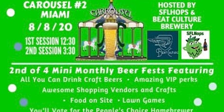 Craft Carousel Beer Festival #2 - Miami billets