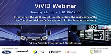 ViVID Webinar tickets