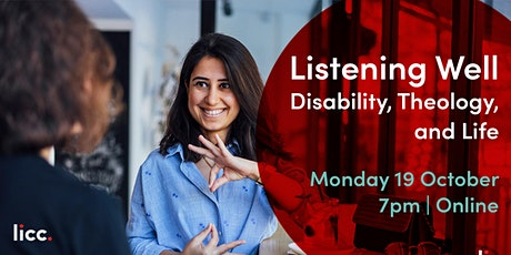 Listening Well: Disability, Theology, and Life tickets