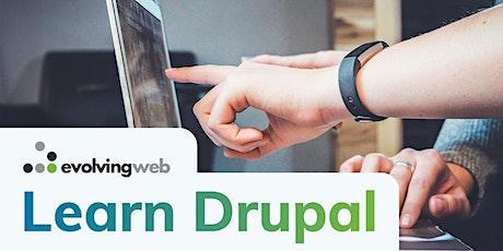 Drupal Module Development - Live Online Training tickets