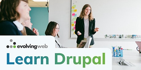 Landing Page Architecture & Theming for Drupal - Live Online Training tickets